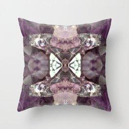 Amethyst 2 Throw Pillow