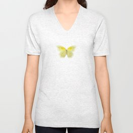 Lazy Butterfly Unisex V-Neck