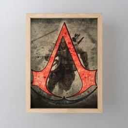 Assassin cr logo Framed Mini Art Print