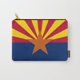 Arizona State flag, Authentic version - color and scale Carry-All Pouch