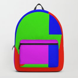 Colored shapes Backpack