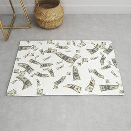 Money,dollars,prosperity pattern Rug