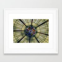 kaleidoscope Framed Art Prints featuring Kaleidoscope   by Laura George