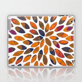 Watercolor brush strokes - rusty effect Laptop & iPad Skin