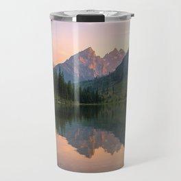 Reflecting The Tetons Travel Mug