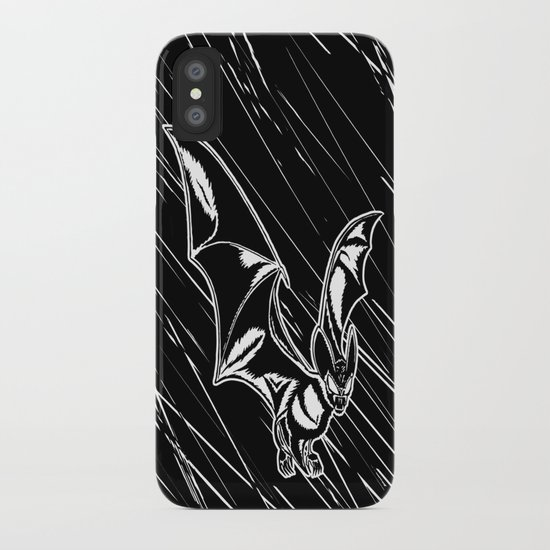 Bat Attack! iPhone Case