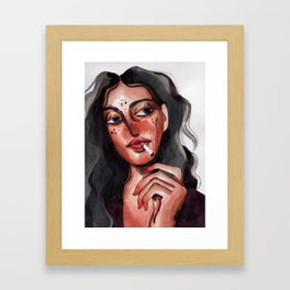 How to Survive the Apocalipse Framed Art Print