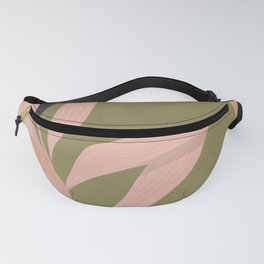 Tropical Leaf- Abstract Art 2 Fanny Pack