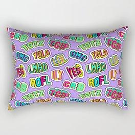 Patch pattern #3 Rectangular Pillow