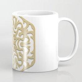 pattern, ornament, decor, mandala, golden, gold decor, gold, jewelry, element, postcard, christmas Coffee Mug