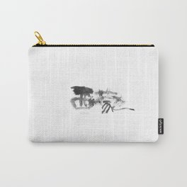 Simon_Name_Abstract_Calligraphy_typo_Chinese Word_09 Carry-All Pouch