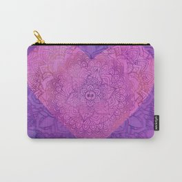 With All My Heart Carry-All Pouch
