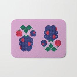 Fruit: Blackberry Bath Mat