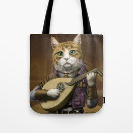 Bard Cat Tote Bag