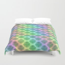 Psychedelic pattern Duvet Cover