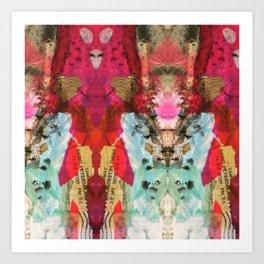 Golden Rose Blushes Art Print
