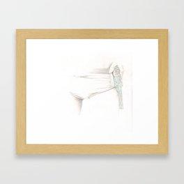 Jeux d'Eau Framed Art Print