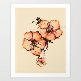 gumamela Art Print