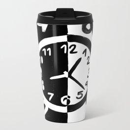 Tick Tock Metal Travel Mug