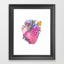 Heart of Greenland Framed Art Print