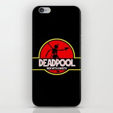 Deadpool : Merc with a Mouth iPhone & iPod Skin