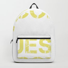 Jesus Coffee & Trump print For Christian Trump Supporters  graphic Backpack
