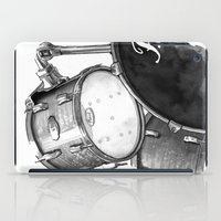 drums iPad Cases featuring Drums by Ashley Silvernell Quick