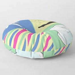 Parthenon-fat Floor Pillow