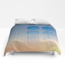 Through the Peep Holes Comforters