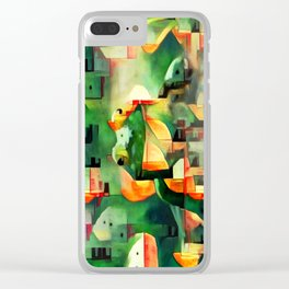Ree Deep Rock Clear iPhone Case