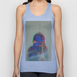 The Space Beyond - Astronaut Unisex Tank Top