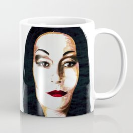 Morticia Addams Coffee Mug