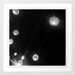 Black&White@Night  Art Print