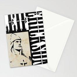 Leif Ericson - Viking explorer Stationery Cards