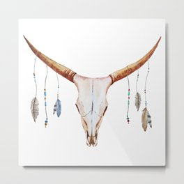 Animal Skull 03 Metal Print