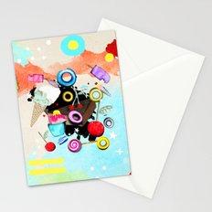 La vida es dulce y maravillosa Stationery Cards