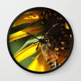 Desert Sunflower Cafeteria Wall Clock