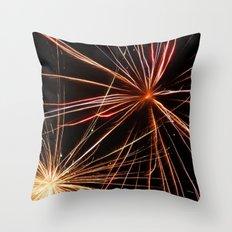 Fireworks7 Throw Pillow