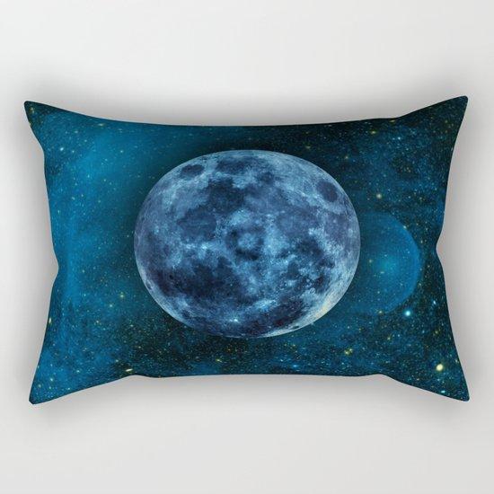 Blue Traveler Rectangular Pillow
