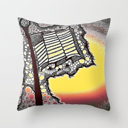 Tribute to my Green Beret Throw Pillow