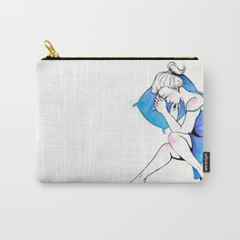 Blue Dreams Carry-All Pouch