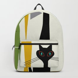 Mid-Century Modern Art Cat 2 Backpack