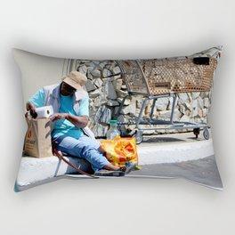 Dining Out - No Reservation Rectangular Pillow