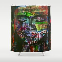 Friends and Lovers Shower Curtain