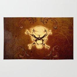 Scary skull Rug