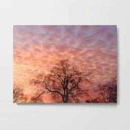 The Clouds Whisper Hope Metal Print