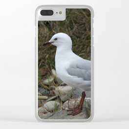 Nature #3 Clear iPhone Case