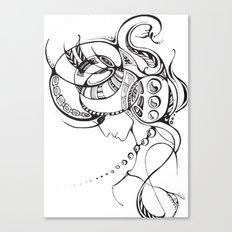 SWAN Canvas Print