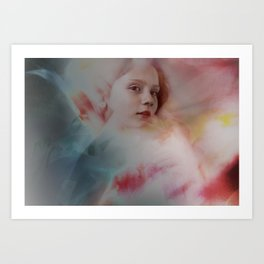 Amilia Dreaming Art Print