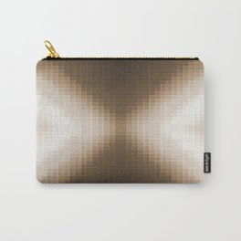 Taupe Pixels  Carry-All Pouch